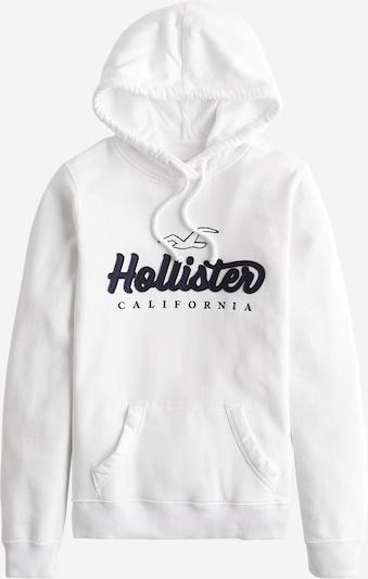 HOLLISTER Sweatshirt 'Tech Core' in dunkelblau / schwarz / naturweiß, Produktansicht