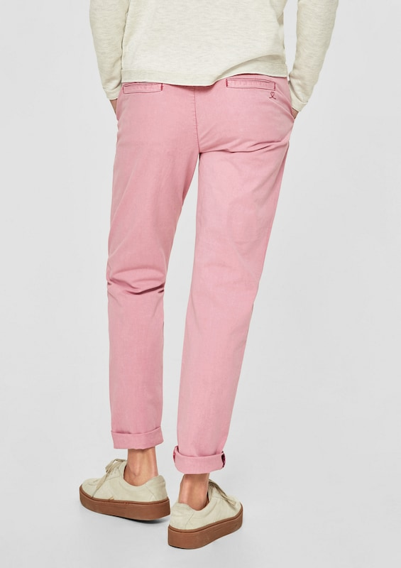 S.oliver Red Label Smart Chino: Hose With Wash Effect
