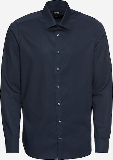 OLYMP Zakelijk overhemd in de kleur Marine, Productweergave