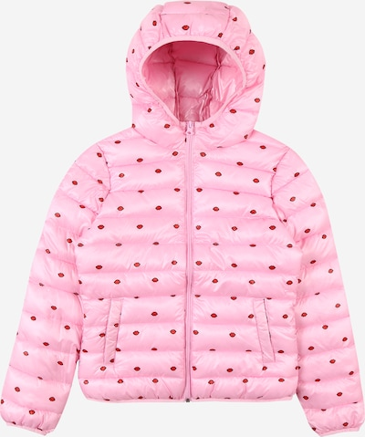 UNITED COLORS OF BENETTON Jacke in rosa / rot / schwarz, Produktansicht