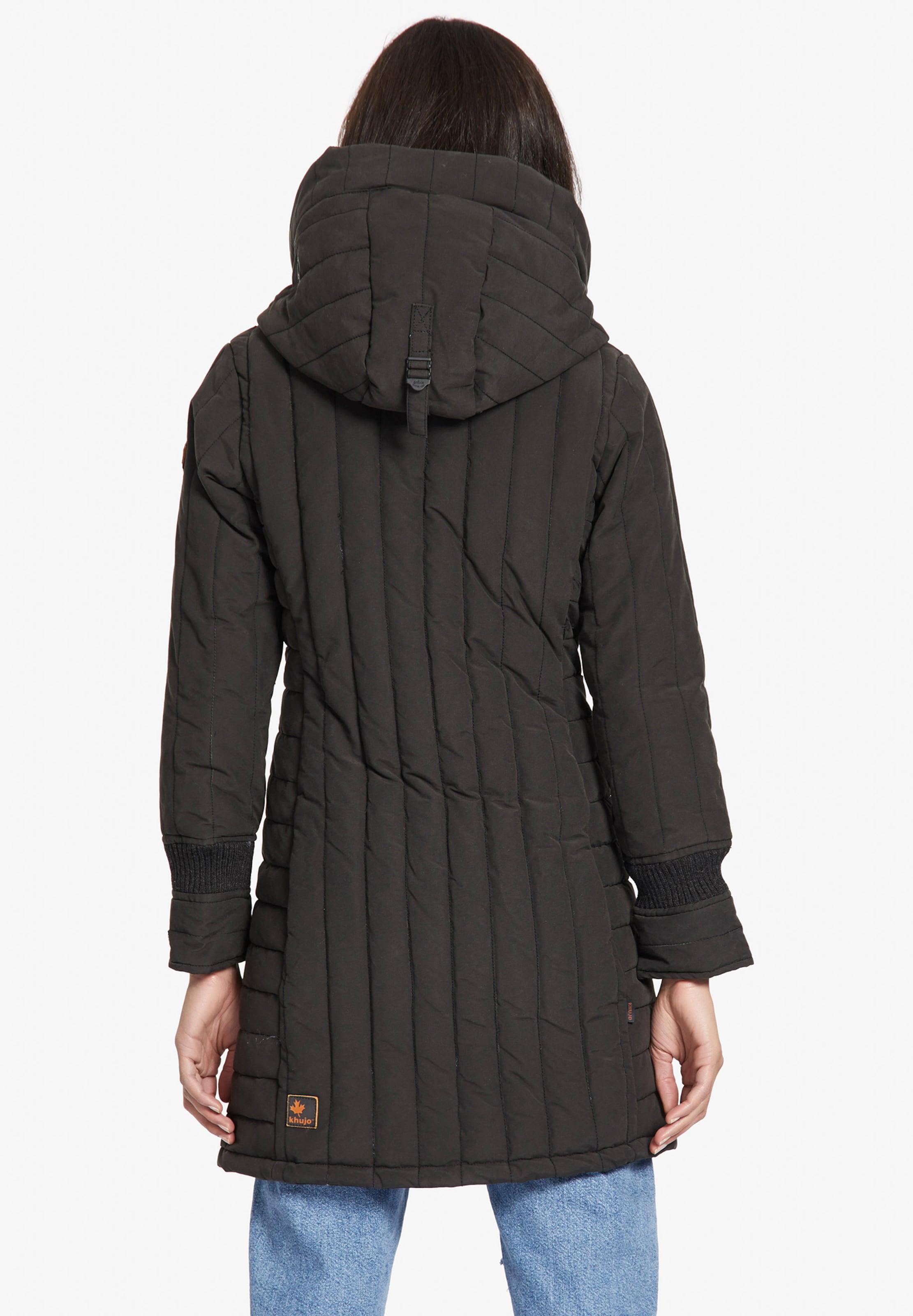 D'hiver Noir 'jerry En Manteau Khujo Prime2' 2IWHED9