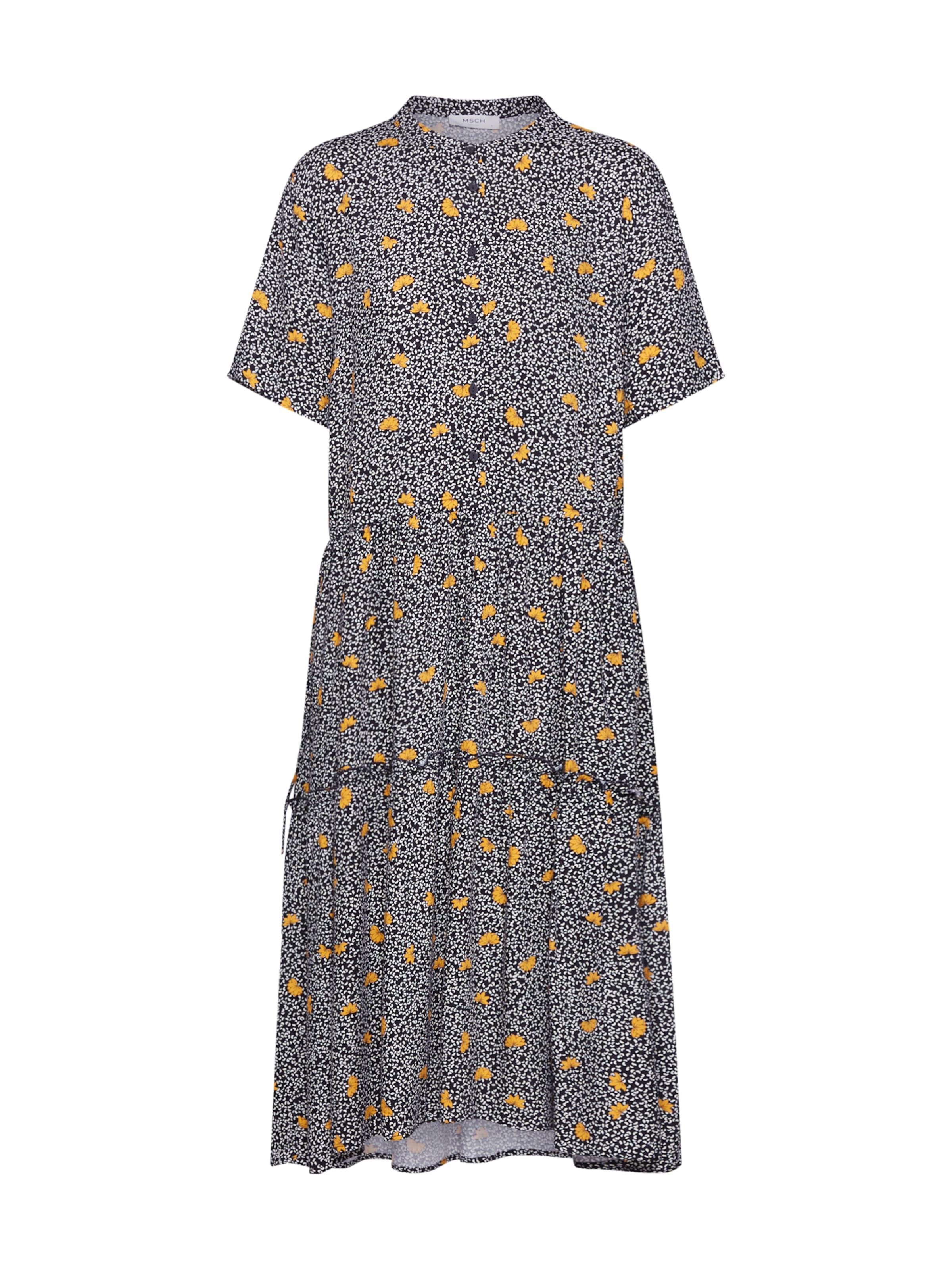 Copenhagen 'leia' Moss Robe chemise JauneNoir En Yybf76gmvI