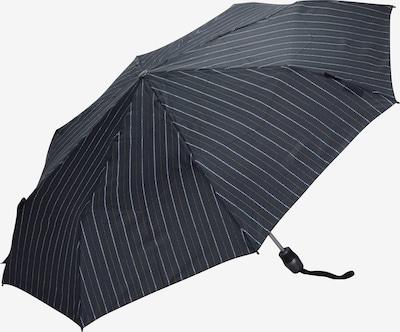 KNIRPS Taschenschirm 'T .200' 28 cm in ultramarinblau / senf / weiß, Produktansicht