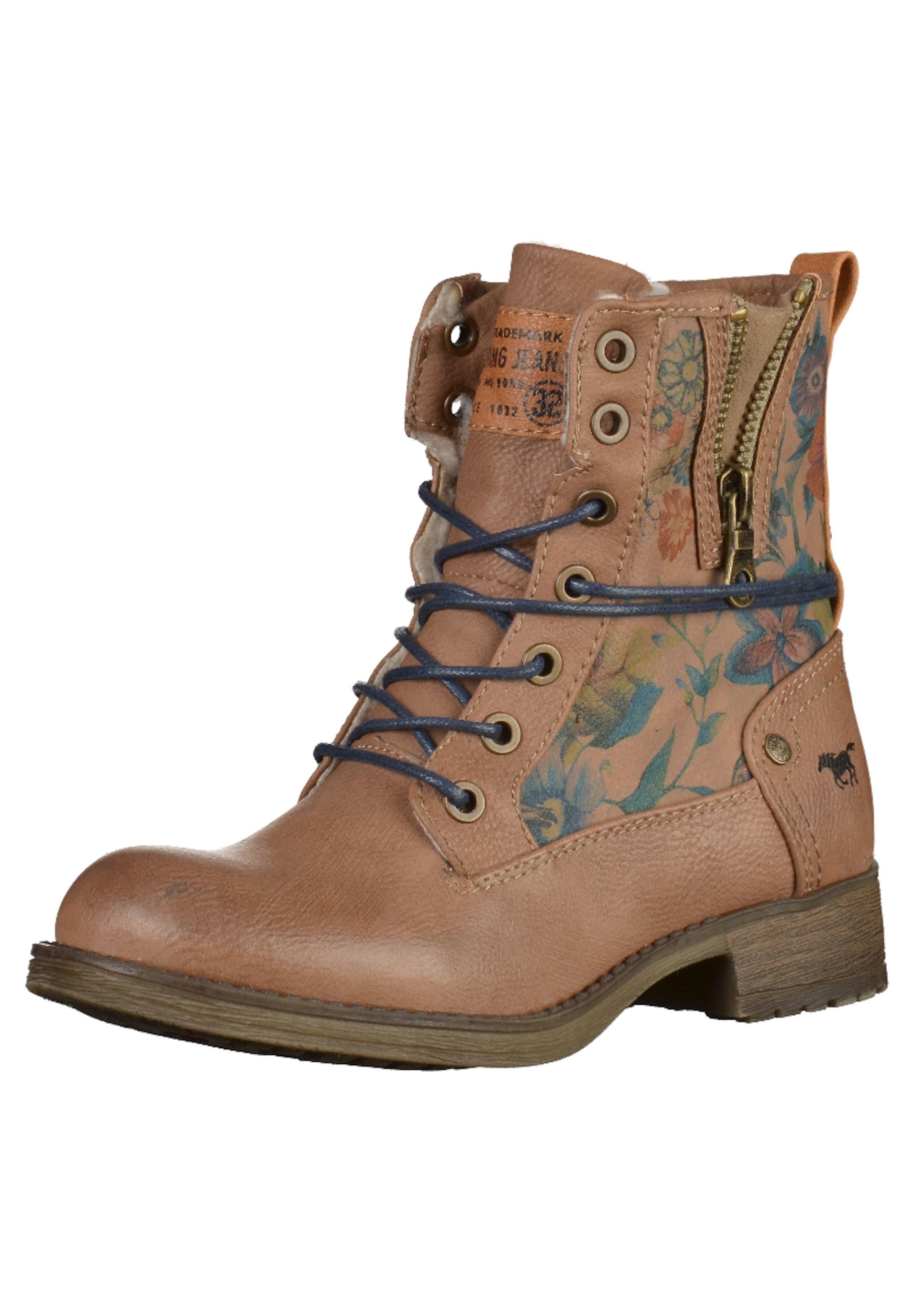 MUSTANG Schnürstiefel Verschleißfeste billige Schuhe Hohe Qualität
