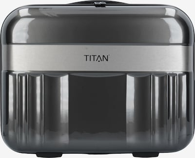 TITAN Toilettas 'Spotlight Flash' in de kleur Antraciet / Zilver, Productweergave