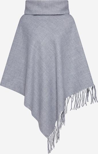 OBJECT Cape 'MARILYN' en gris chiné, Vue avec produit