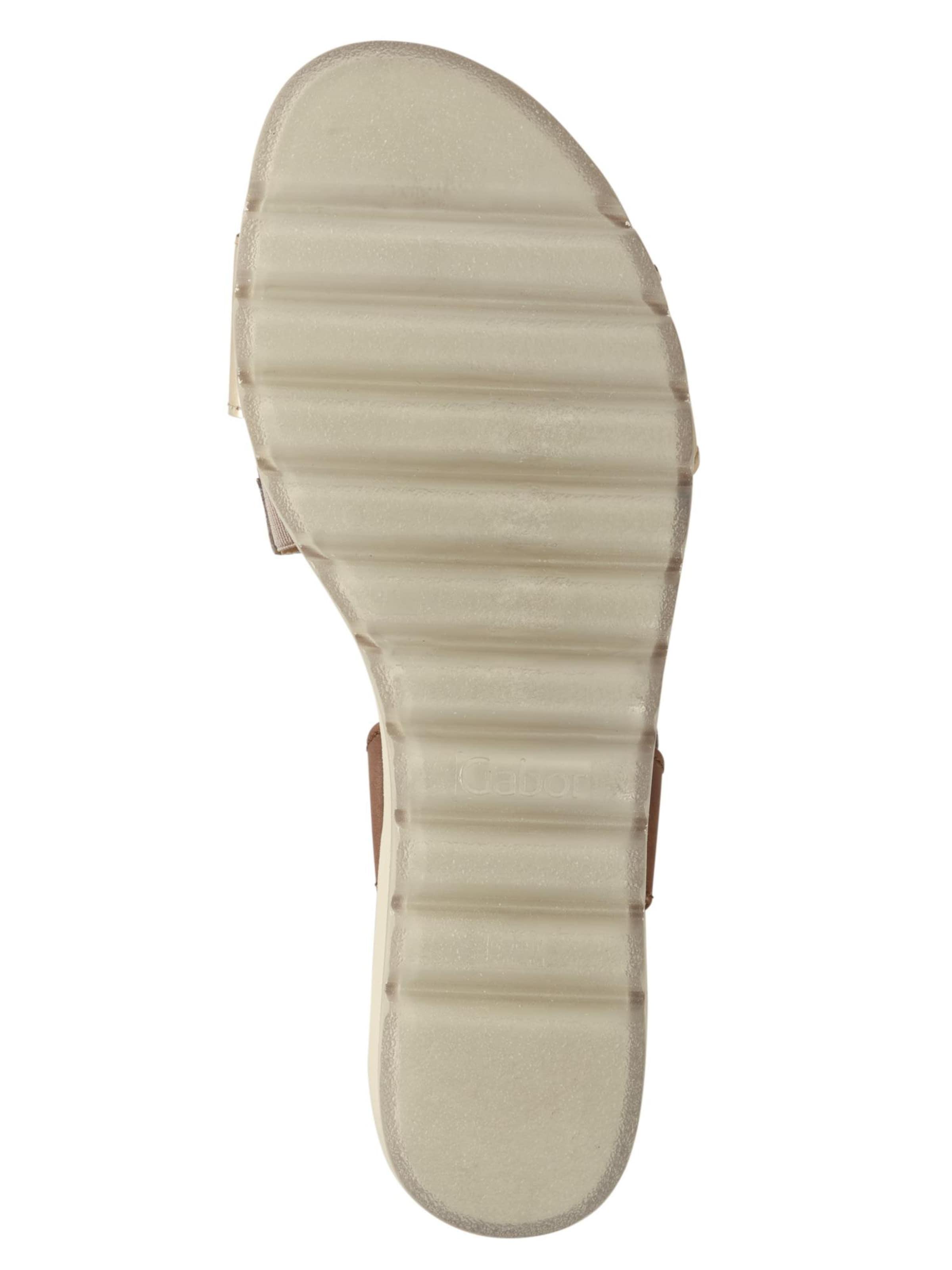 GABOR Sandalette Leder gut Bequem, gut Leder aussehend 1836ba