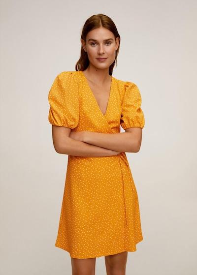 MANGO Kleid in senf / hellgelb, Modelansicht