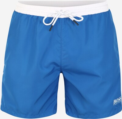 BOSS Plavecké šortky 'Starfish' - modrá / bílá, Produkt