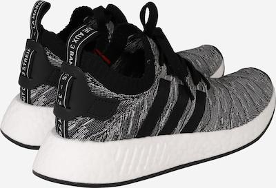 ADIDAS ORIGINALS Sneaker 'NMD R2 PK' in grau / orange / schwarz / weiß: Rückansicht