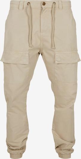 Urban Classics Pantalon cargo en beige, Vue avec produit