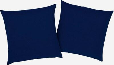 BRUNO BANANI Kissenhüllen 'Lagan' in dunkelblau, Produktansicht