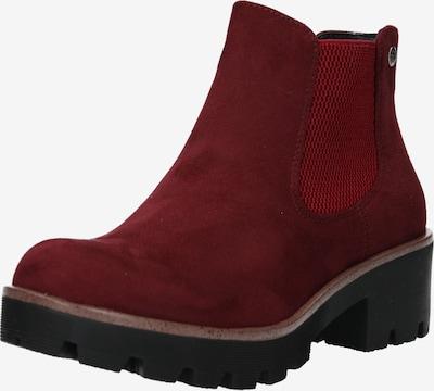 RIEKER Stiefelette in rot, Produktansicht