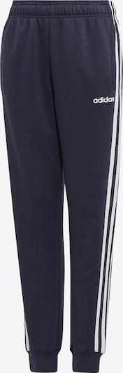 ADIDAS PERFORMANCE Jogginghose 'YB E 3S PT' in dunkelblau / weiß, Produktansicht