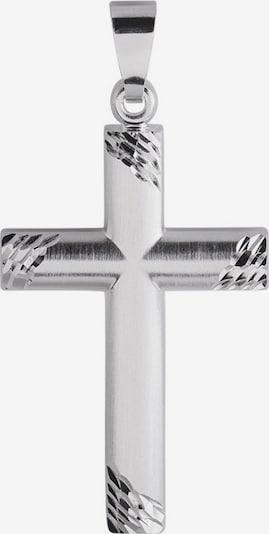FIRETTI Anhänger ohne Kette 'Kreuz' in silber, Produktansicht