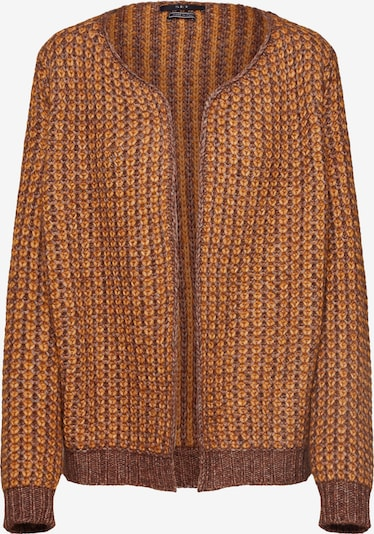 SET Kardigan w kolorze brązowy / pomarańczowym: Widok z przodu
