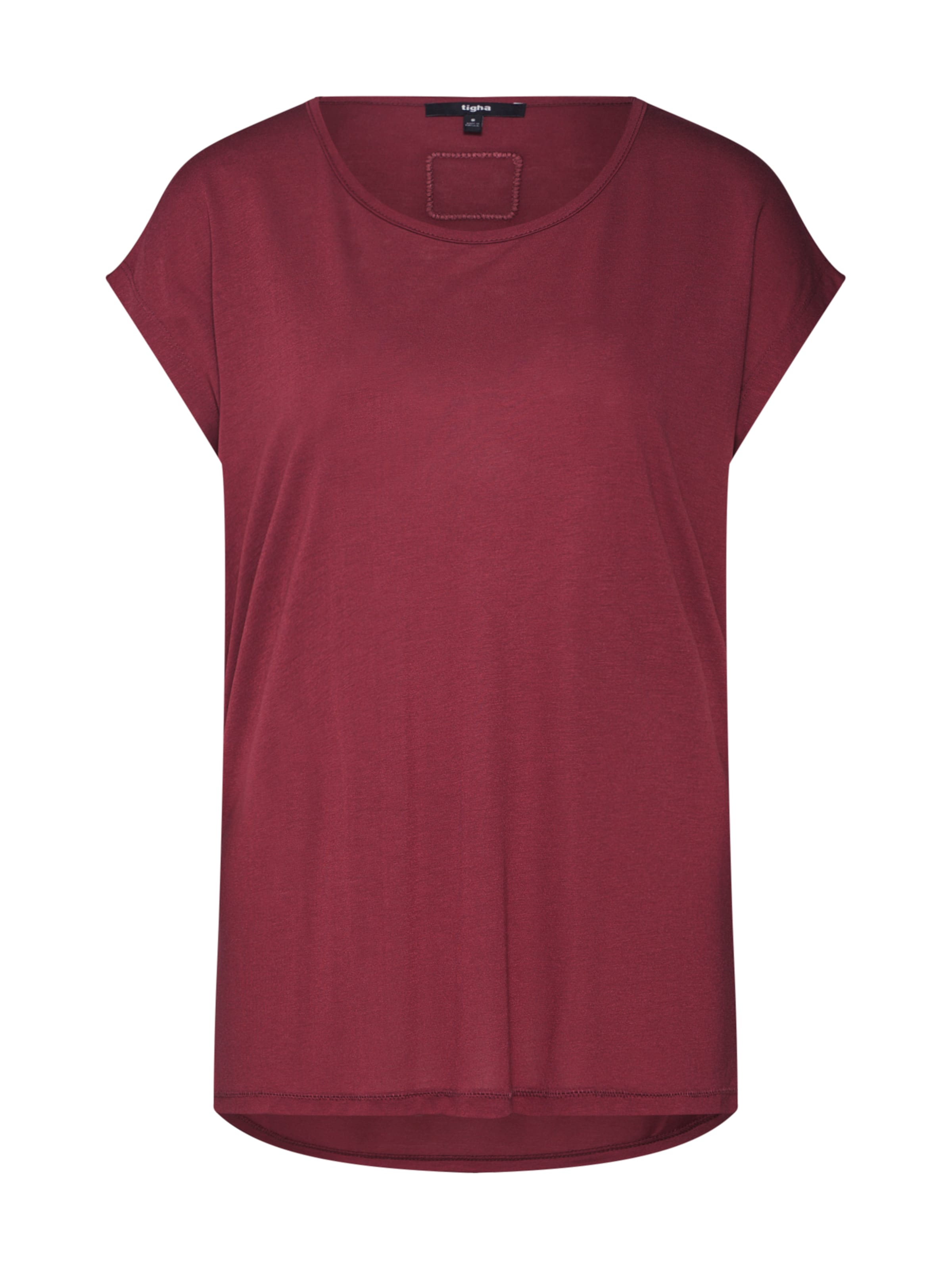 De T shirt Lie 'effi' En Tigha Vin Rj4A53L
