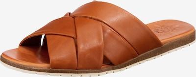 Apple of Eden Pantolette 'Berta' in braun, Produktansicht