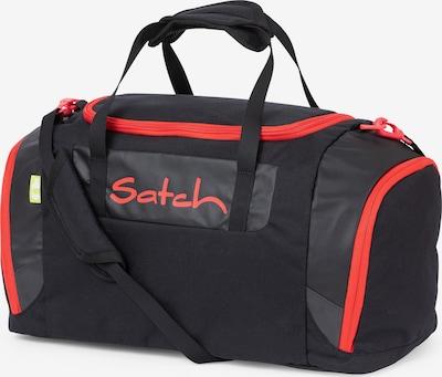 Satch Tasche in orangerot / schwarz, Produktansicht