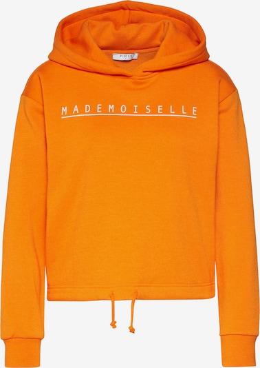 PIECES Sweatshirt in de kleur Sinaasappel, Productweergave