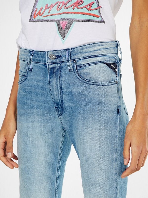 Replay Regular Blue Jeans 'jengre' Denim RRgZq1zx