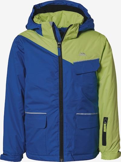 TRESPASS Jacke 'BOOMKIN' in blau / hellgrün, Produktansicht
