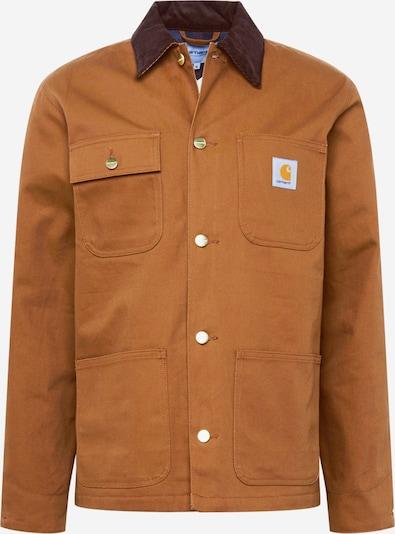 Carhartt WIP Jacke 'Michigan' in hellbraun / dunkelbraun, Produktansicht