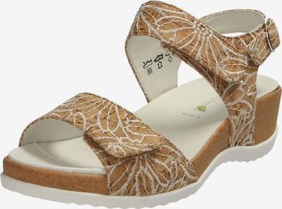 WALDLÄUFER Sandale in kitt / hellbraun, Produktansicht