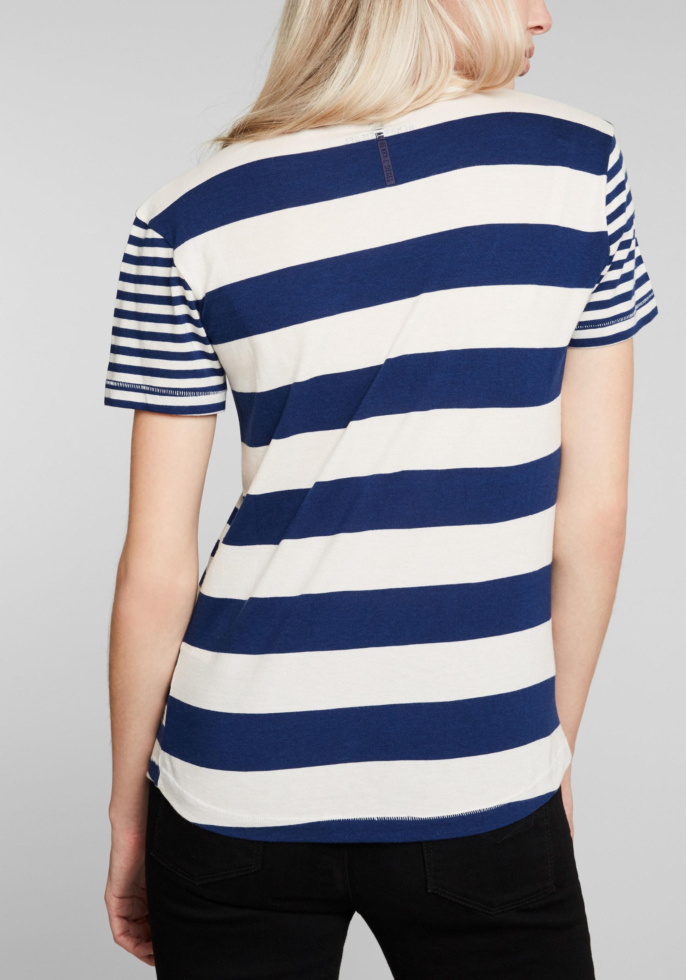 His BlauWeiß shirt In Jeans T 34L5ARjq
