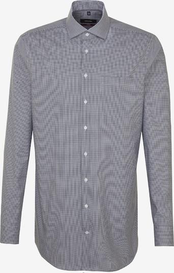SEIDENSTICKER Hemd 'Modern' in blau: Frontalansicht