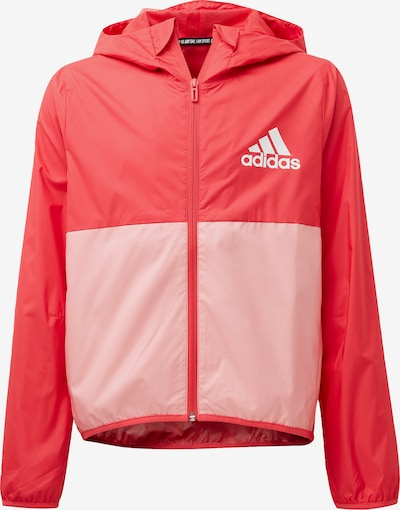ADIDAS PERFORMANCE Windbreaker in lachs / rot, Produktansicht