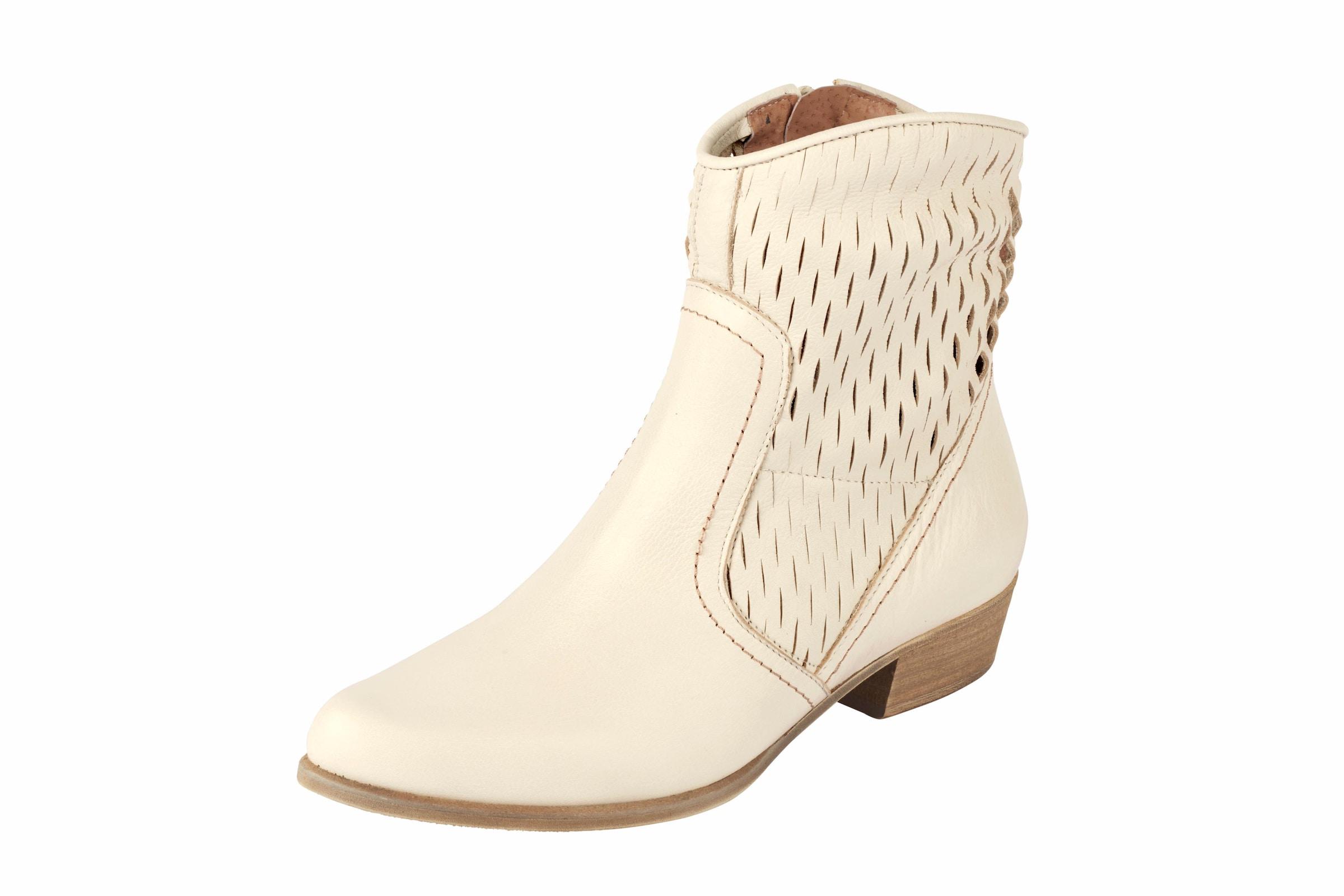 heine Stiefelette mit Cut-Dessin Verschleißfeste billige Schuhe
