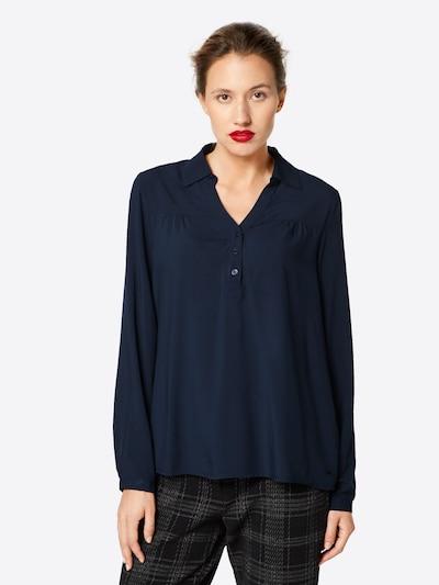 GREYSTONE Bluse in nachtblau: Frontalansicht