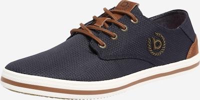 bugatti Sneaker 'ALFA' in dunkelblau / braun / weiß, Produktansicht