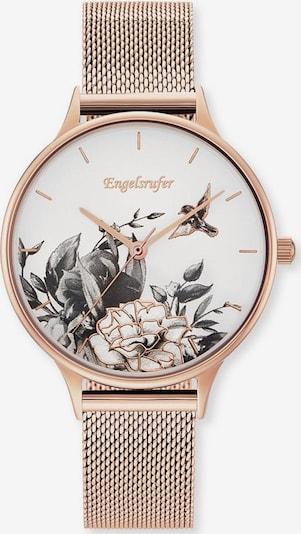 Engelsrufer Quarzuhr 'Blume, Erwa-Flower1-MR-MR' in rosegold / schwarz / weiß, Produktansicht