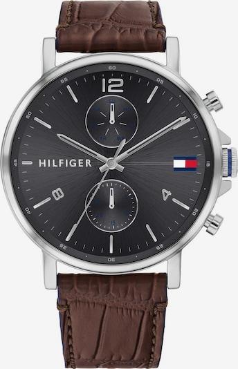 TOMMY HILFIGER Analoog horloge in de kleur Bruin / Zilver, Productweergave