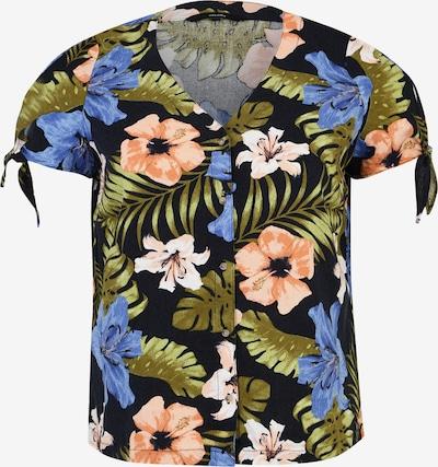 Vero Moda Curve Bluza 'EFIE MILO' | nočno modra / mešane barve barva, Prikaz izdelka