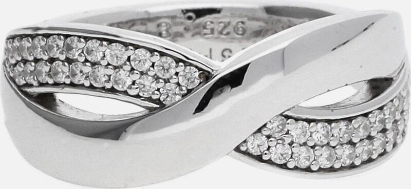 ESPRIT Damen Fingerring Silber Vibrant 'ESRG92443A'