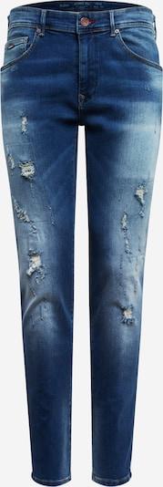 Petrol Industries Herren - Jeans 'Seaham ripped & repair' in blue denim, Produktansicht