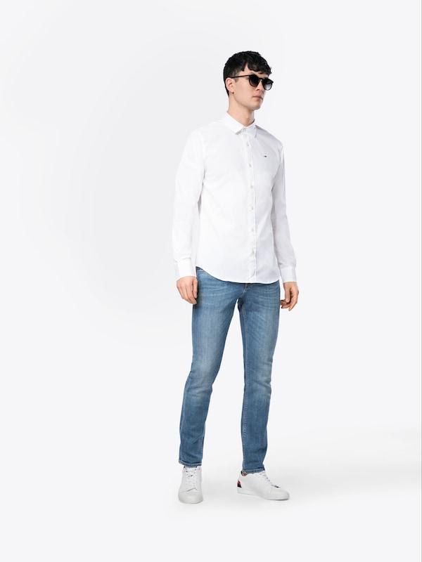 En Tommy 'jm' Blanc Jeans Chemise DIYeH9EW2