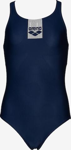 ARENA Badeanzug in Blau