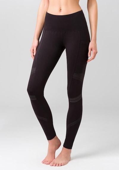 LASCANA ACTIVE Leggings in schwarz, Modelansicht