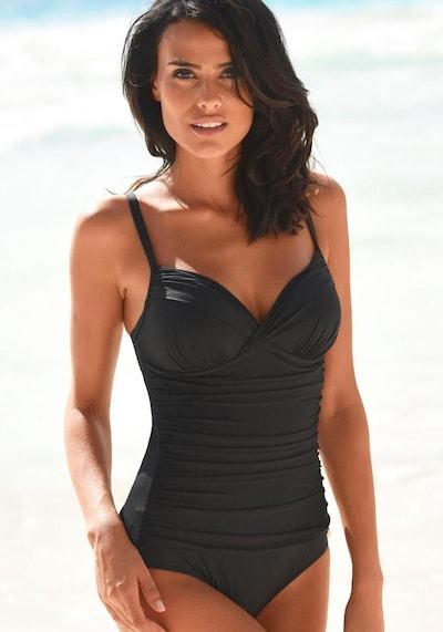 LASCANA Badpak 'Sienna' in de kleur Zwart, Modelweergave