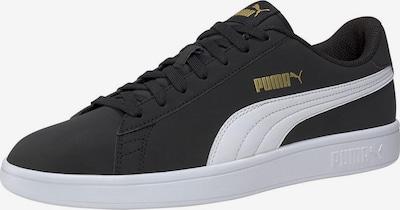 PUMA Sneakers laag 'Smash v2 Buck' in de kleur Zwart / Wit, Productweergave