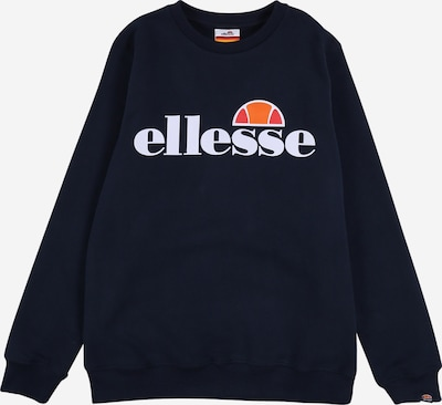 ELLESSE Sweatshirt 'Siobhen' in navy / orange / rot / weiß, Produktansicht