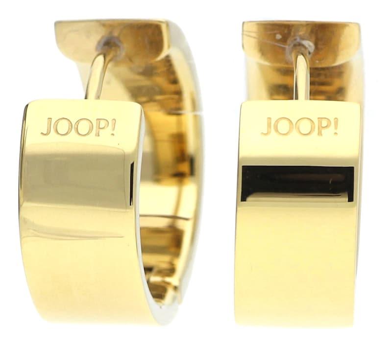 JOOP! Ohrringe 'Creole Edelstahl Gold Pristine JPER10003B000'