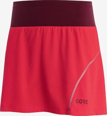 GORE WEAR Athletic Skorts 'R7' in Red