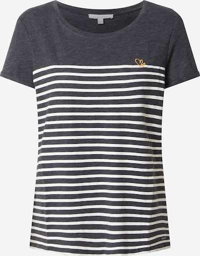 TOM TAILOR DENIM T-Shirt in gold / grau / schwarzmeliert, Produktansicht