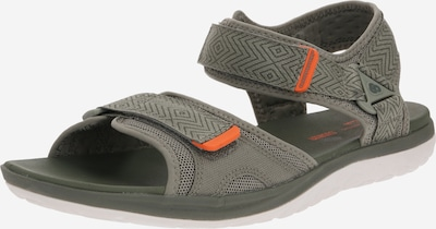 CLARKS Sandales de randonnée 'Step Beat Sun' en gris / olive, Vue avec produit