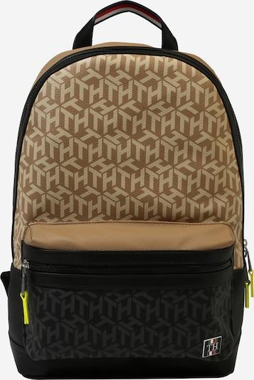 TOMMY HILFIGER Tasche 'COATED CANVAS' in beige / schwarz, Produktansicht